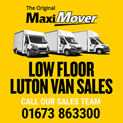 The original Maxi Mover - low floor luton van sales