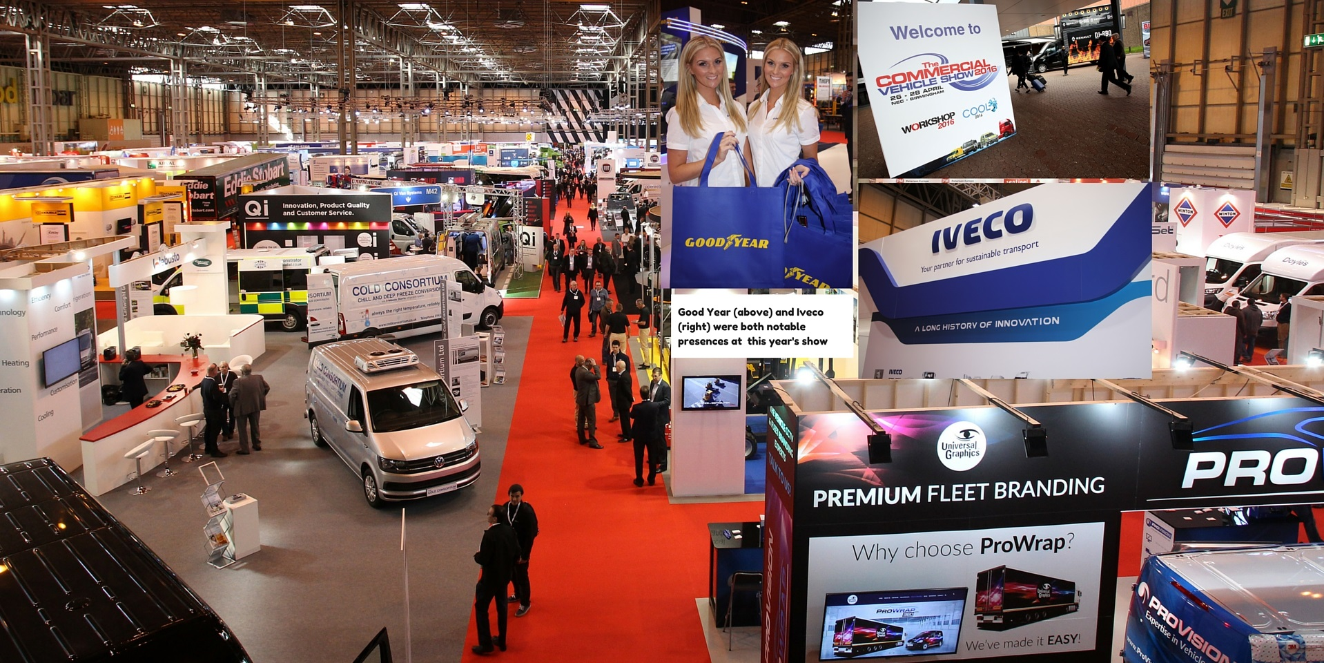 the 2016 commercial vehicle show  u2013 but where were the trucks