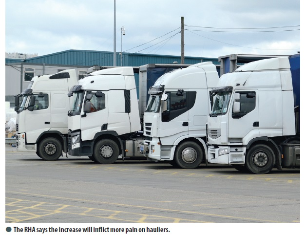 More penalties on the way for older HGVs
