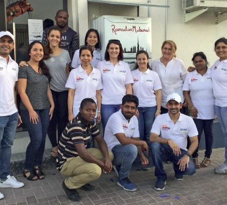 Arpin Middle East volunteers in Dubai