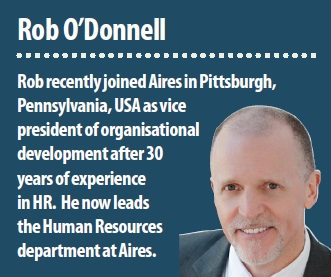 Rob O'Donnell, Vice President, Organisational Development, Aires