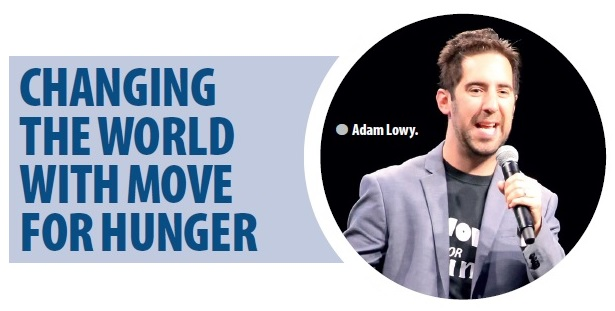 Adam Lowy, Move for Hunger