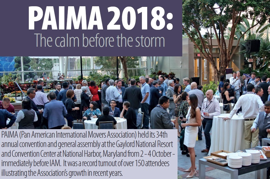 PAIMA 2018 - the calm before the storm