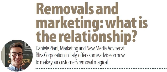 Removals and marketing - what is the relationship?