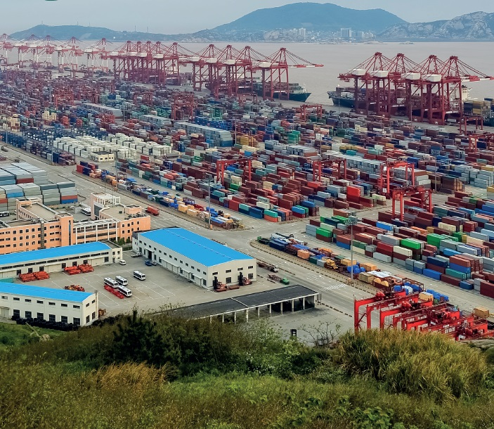 Shanghai's US$12 billion Yangshan Port