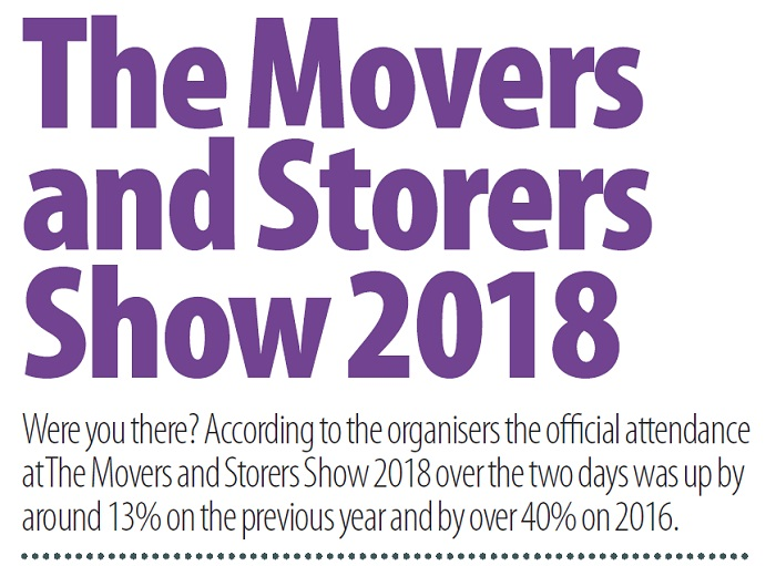 The Movers and Storers Show 2018