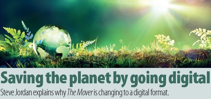Saving the planet by going digital