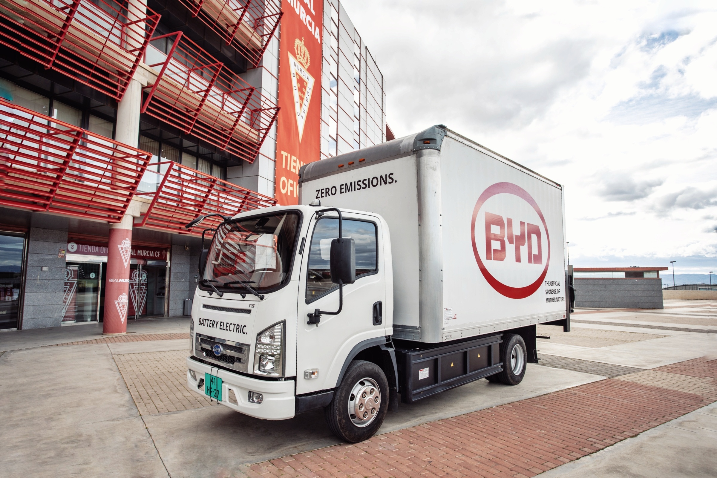 4. BYD T 6 Electric Light Truck