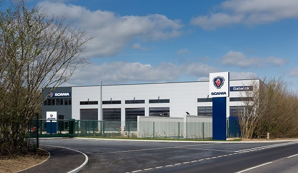 Scania's new commercial vehicle service centre