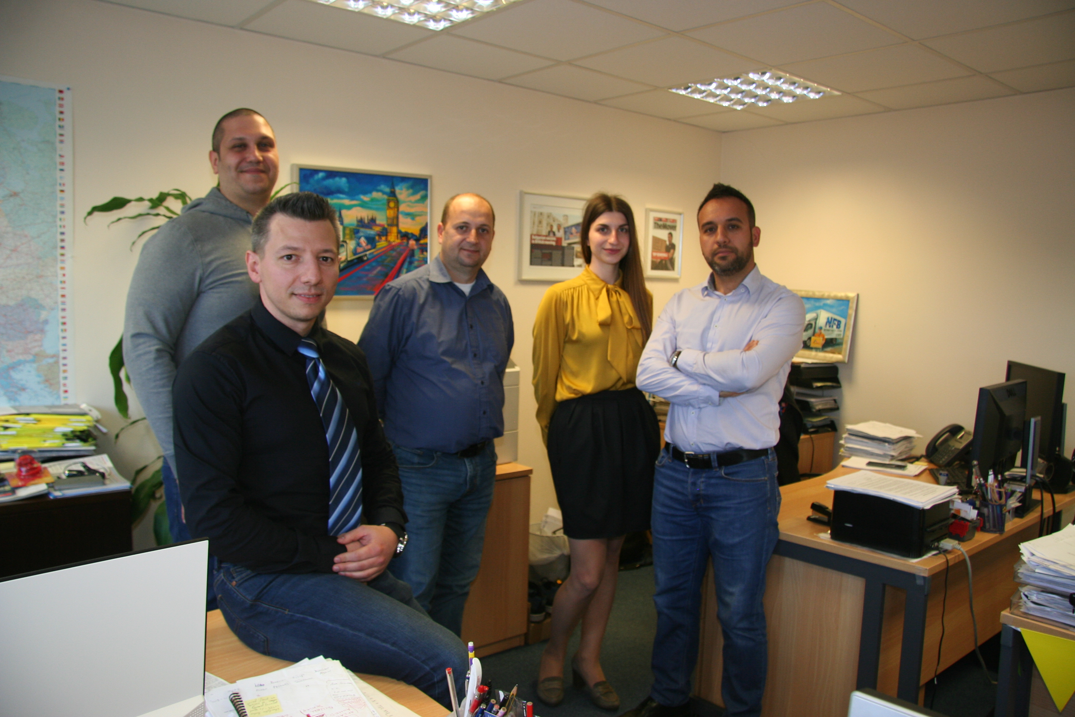 The team at Top Removals