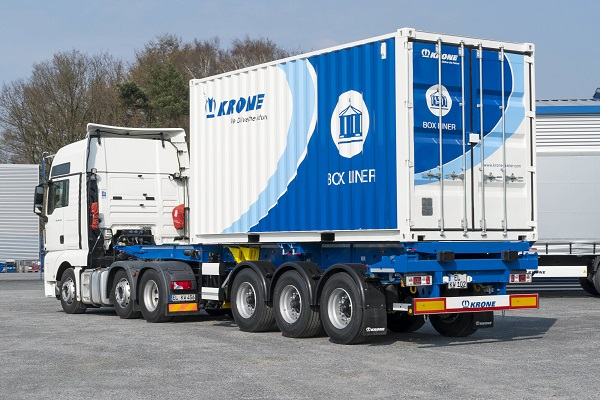 Krone's new Box Liner container carrier