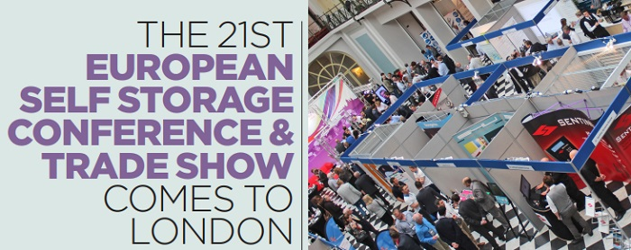 The 21st European Self Storage Conference & Trade Show comes to London cover