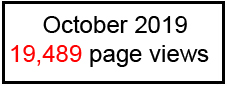 October 2019 - 19,489 page views