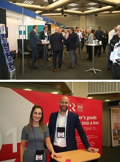 Delegates at the Trade show, Reason Global at the Trade Show
