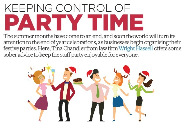 Keeping control of party time