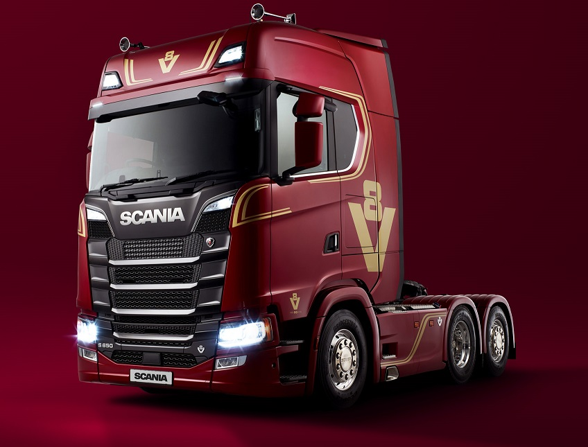 Scania UK V8 limited edition