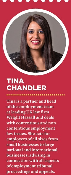 Tina Chandler, Wright Hassall