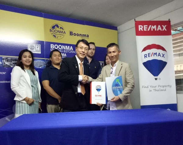 BOONMA signs MOU with RE/MAX in Thailand