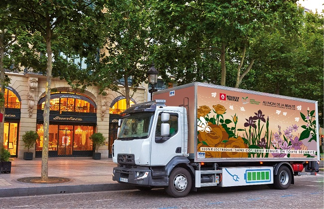 Renault to launch fully electric trucks in 2019