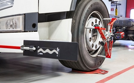 445x277 Tyre wear specialist tackles mis-aligned HGVs with sustainable Josam solution