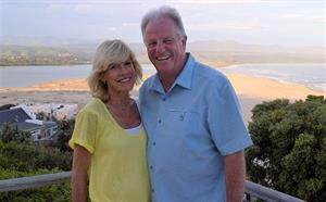 Andy Neale and his wife, Lynn