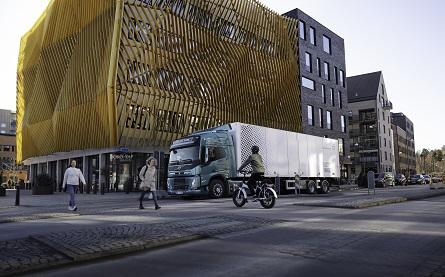 Volvo FM Electric Truck 445x277